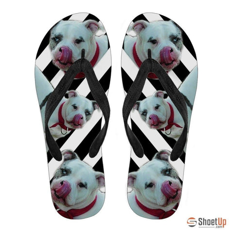 Catahoula Leopard Flip Flops For Women-Free Shipping