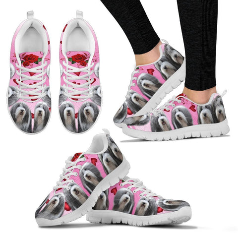 Valentine's Day Special-Bearded Collie Print Running Shoes For Women-Free Shipping