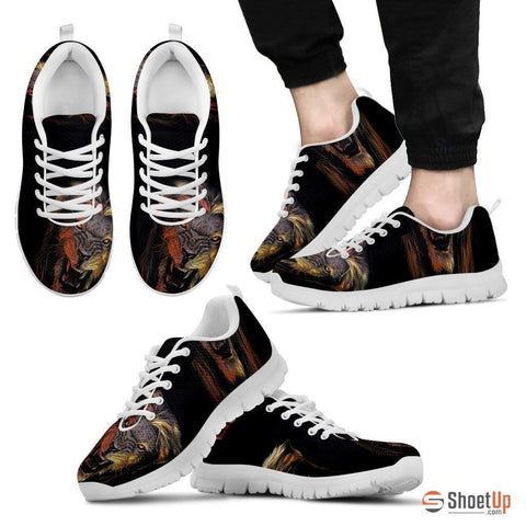 Roaring Lion-Men And Women's Running Shoes-Free Shipping
