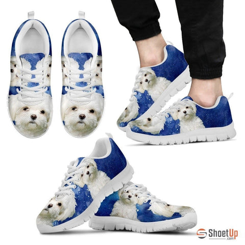 Maltese-Dog Running Shoes For Men-Free Shipping Limited Edition
