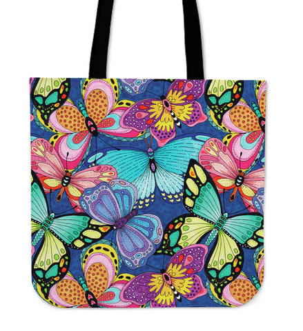 Butterfly Cloth Tote Bag