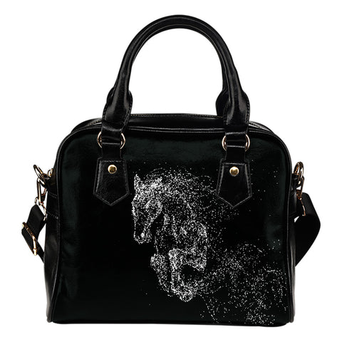 Black Horse Premium Leather Handbag