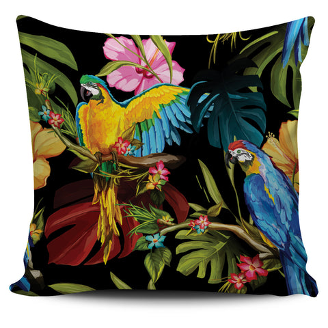 Parrot Pillow Cover