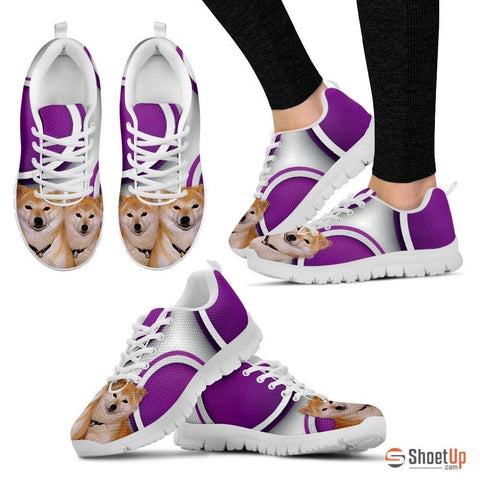 Shiba Inu Dog Running Shoes For Women-Free Shipping
