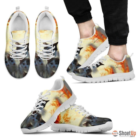 James Bond Cat Sneakers (Men And Women Running Shoes)- Free Shipping