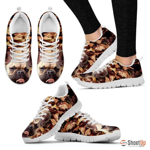 French Bulldog-Dog Running Shoe For Women-Free Shipping
