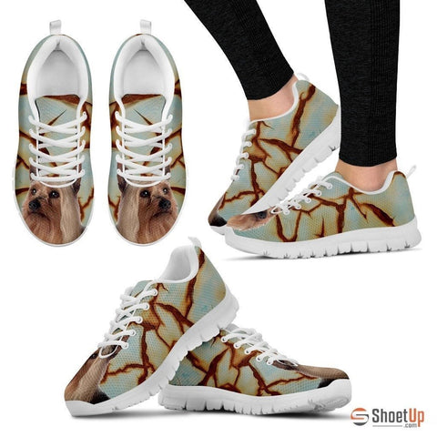Silky Terrier Dog Running Shoes For Women-Free Shipping