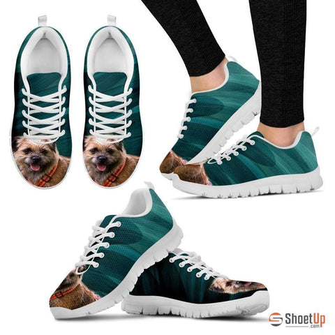 Border Terrier-Dog Running Shoes For Women-Free Shipping