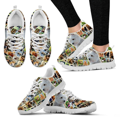 Lovely West Highland White Terrier Print-Running Shoes For Women-Express Shipping