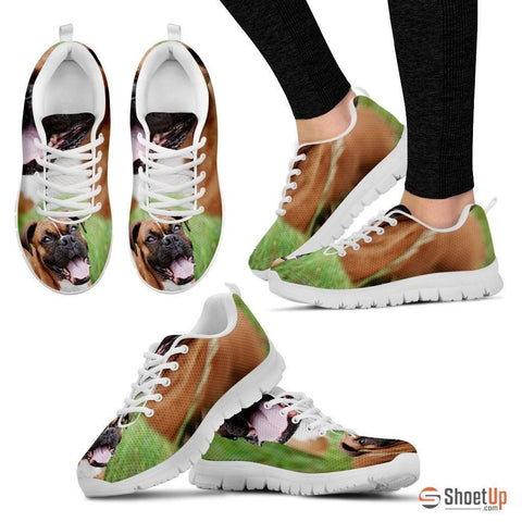 Boxer Dog-Running Shoes For Women-Free Shipping