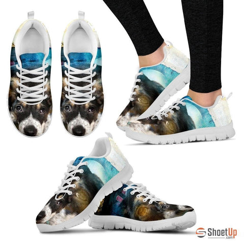 Samantha Burke/ Dog Print Running Shoe For Women- Free Shipping