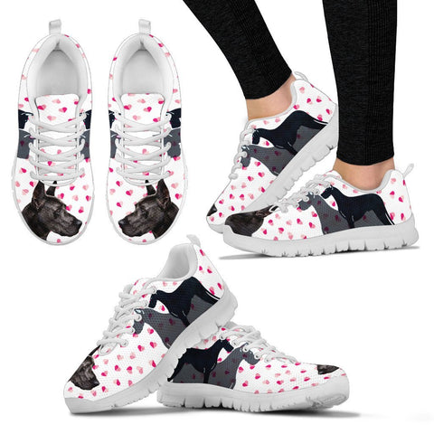 Valentine's Day Special-Great Dane Dog Print Running Shoes For Women- Free Shipping