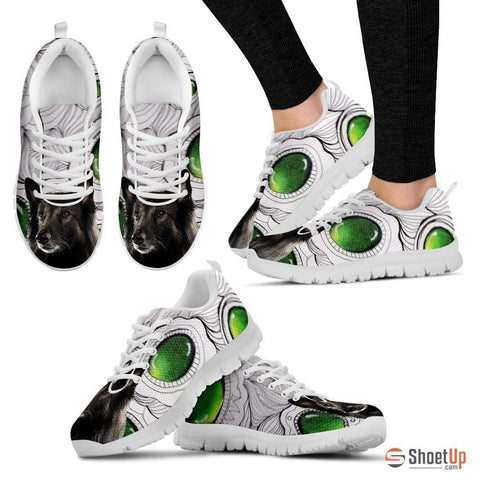 Belgian Tervuren Dog Running Shoes For Women-Free Shipping