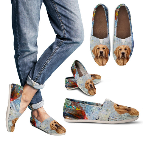 Cute Labrador Retriever Casual Shoes for Women
