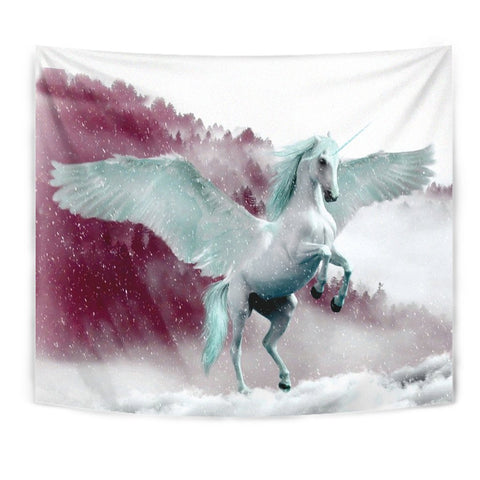 Flying Unicorn Print Tapestry-Free Shipping