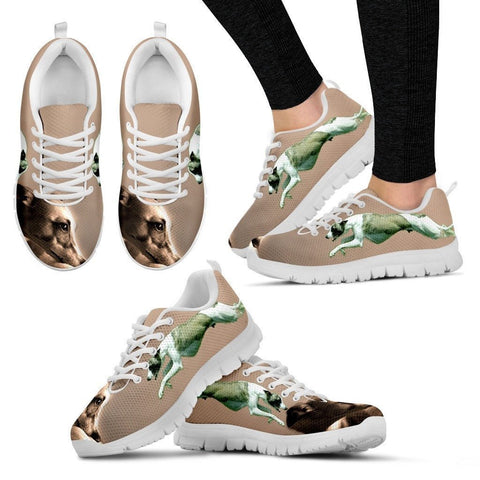 Whippet-Dog Running Shoes For Women-Free Shipping