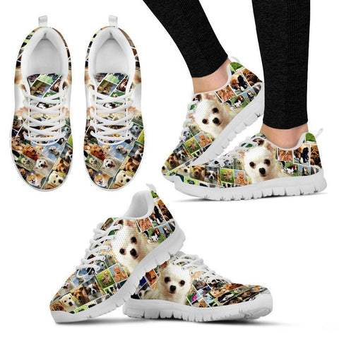 Lovely Chihuahua Print-Running Shoes For Women-Express Shipping