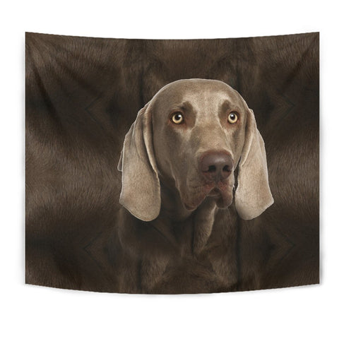 Weimaraner Dog Print Tapestry-Free Shipping