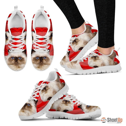 Himalayan Cat Print Running Shoes For Women-Free Shipping