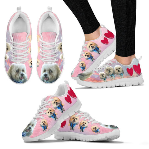 Customized Dog Havanese Print 3 Running Shoes For Women-Express Shipping