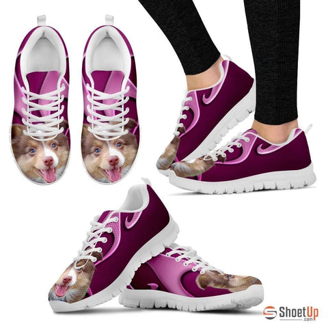 Miniature Australian Shepherd Dog Running Shoes For Women-Free Shipping