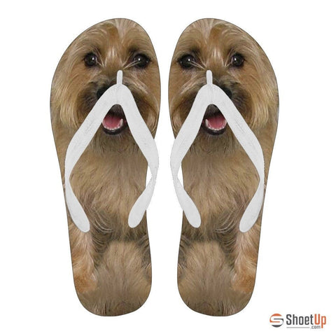 Cairn Terrier Flip Flops For Women-Free Shipping