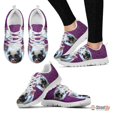 Violet Pig Running Shoes For Women-Free Shipping