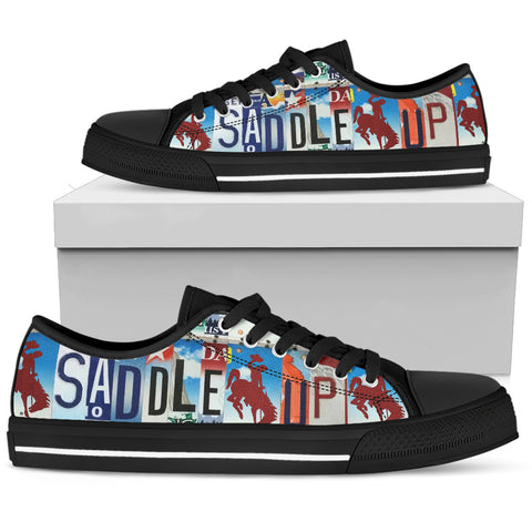 Saddle Up Low Top Shoes for the Horse Lover - Mens