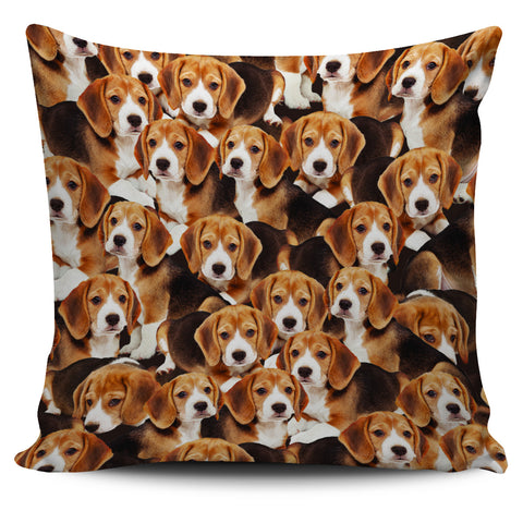 Beagle Puppy Pillowcase