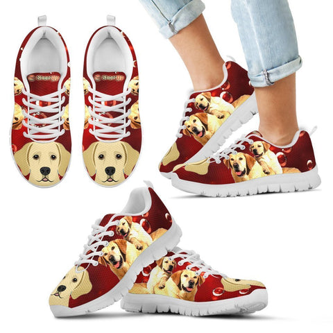 Labrador Retriever Print-Kid's Running Shoes-Free Shipping