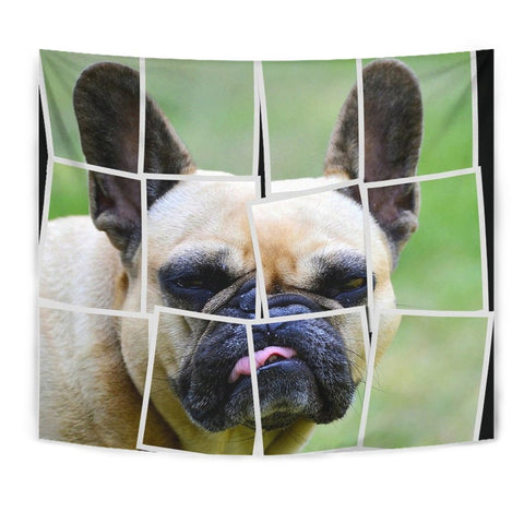 French Bulldog Spread Print Tapestry-Free Shipping