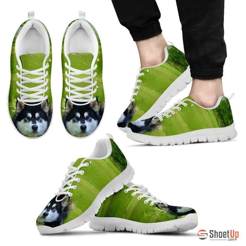 'Alaskan Dog' Running Shoes For Men-3D Print-Free Shipping