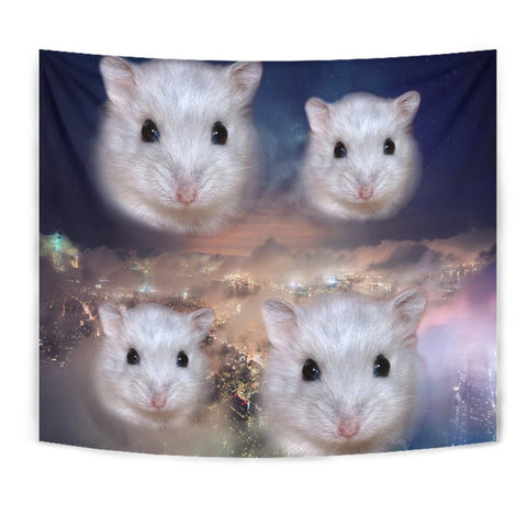 Campbell's Dwarf Hamster Print Tapestry-Free Shipping