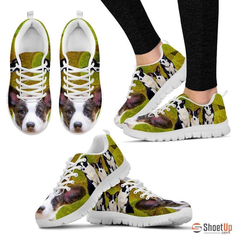 Cardigan Welsh Corgi-Dog Running Shoes For Women-Free Shipping
