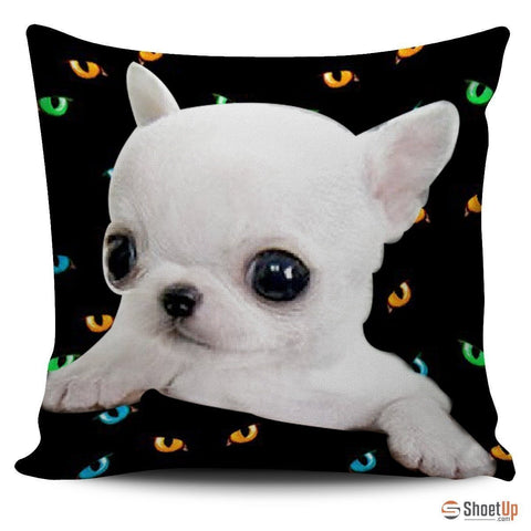 Chihuahua Dog-Pillow Cover-3D Print-Free Shipping-Paww-Printz-Merchandise