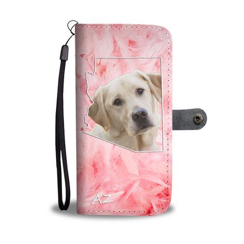 Labrador Retriever Print Wallet Case- Free Shipping-AZ State