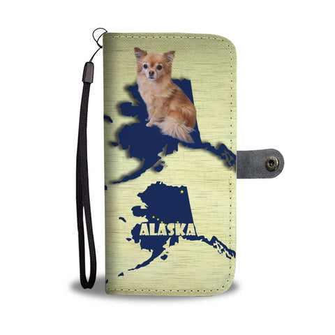 Chihuahua Dog Print Wallet Case-Free Shipping-AK State