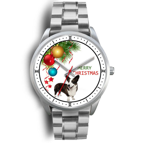 Cardigan Welsh Corgi Christmas Special Wrist Watch-Free Shipping