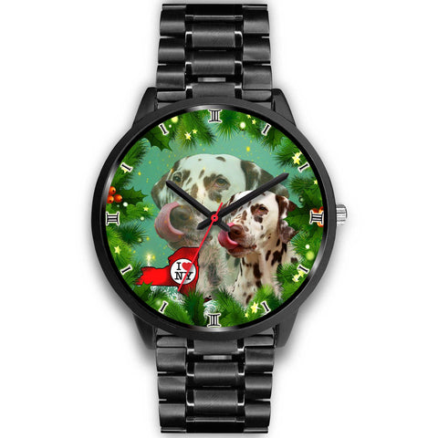 Dalmatian Dog New York Christmas Special Wrist Watch-Free Shipping