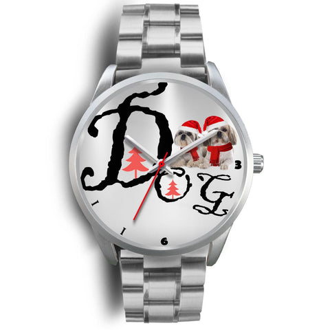Shih Tzu Dog Christmas Special Wrist Watch-Free Shipping