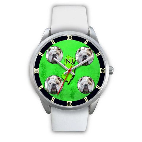 Bulldog New Jersey Christmas Special Limited Edition Wrist Watch-Free Shipping