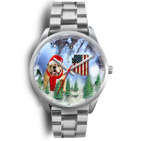 Bulldog Arizona Christmas Special Wrist Watch-Free Shipping