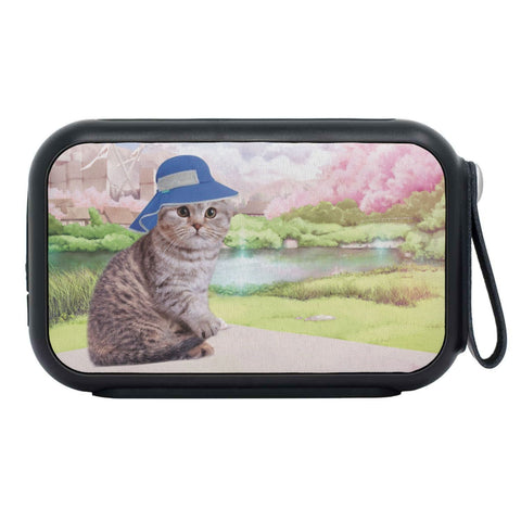 Scottish Fold Cat Print Bluetooth Speaker