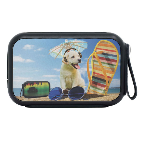 Cute Labrador Retriever Print Bluetooth Speaker