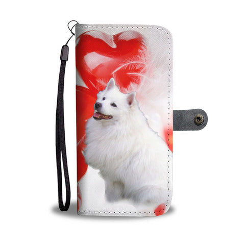 American Eskimo Dog Wallet Case- Free Shipping