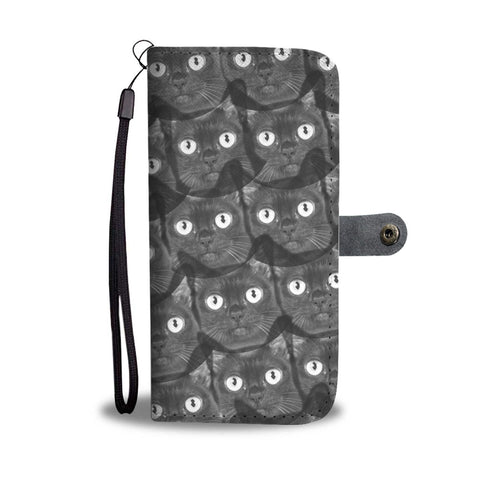 Burmese cat Print Wallet Case-Free Shipping
