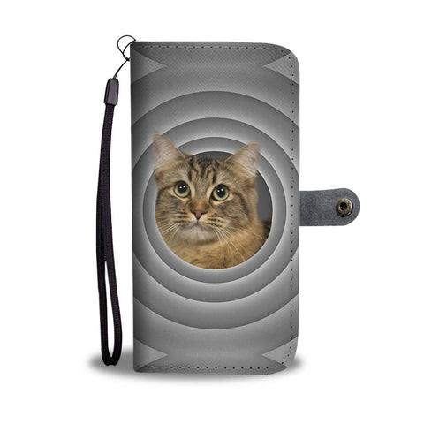 British Shorthair Cat Print Wallet Case-Free Shipping