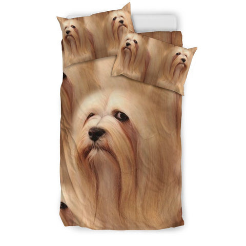 Lhasa Apso Dog Print Bedding Sets-Free Shipping