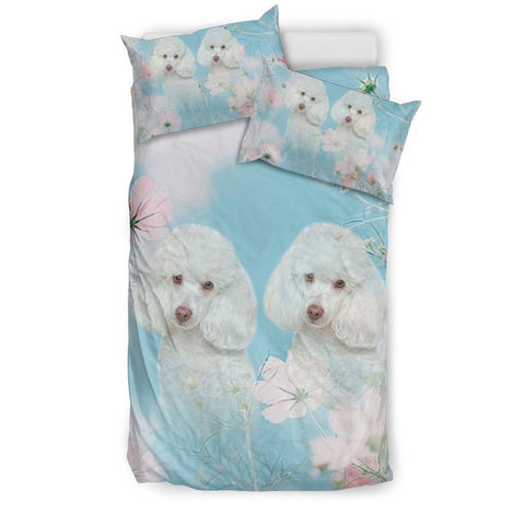 Lovely Poodle Dog Print Bedding Sets-Free Shipping