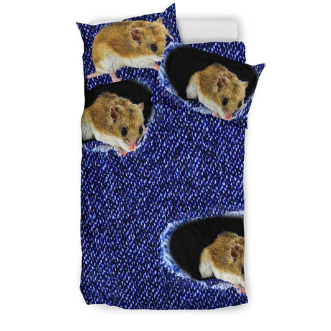 Chinese Hamster Print Bedding Set-Free Shipping